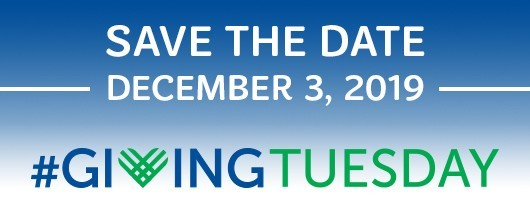 Save the Date! Giving Tuesday Is December 3, 2019