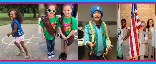 Girl Scouts Uniform Kickoff Day in Glen Carbon and Mount Vernon Shop
