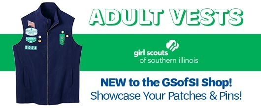 Girl Scout Adult Official Adult Vest