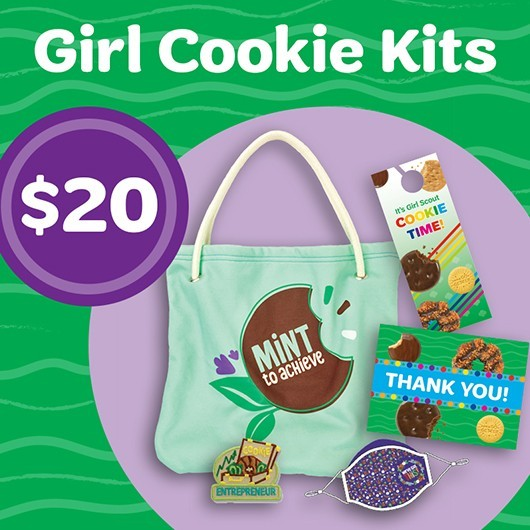 Girl Cookie Kits